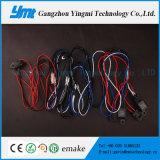 4 connecteurs Harnais de câbles automobiles 108W Barre de lumière Câble Harness
