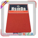 Ral 3020 Tráfico Color Rojo Pintura Agua / Piel / Hoja / Vena Arrugas Textura Powder Coating for Auto Valve