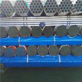 Tubo galvanizado roscado del En 39 de las BS con los casquillos plásticos