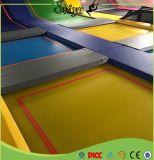 O Trampoline de salto engraçado super o mais novo com a esteira da cor do fornecedor de China