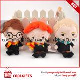 Mini regali svegli di Keychain del giocattolo della peluche dei personaggi dei cartoni animati di fabbricazione, Sounveir