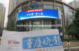 Cartelera al aire libre montada en la pared ahorro de energía de la visualización de LED de Digitaces que hace publicidad (P10)