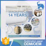 La meilleure qualité 44 pouces de transfert thermique de teinture de papier Roll&#160 de sublimation ; pour le tissu