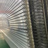 Cadena de producción plataforma del color de plata brillante del perfil de aluminio de Electrophresis
