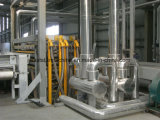합성 석영 돌 석판 생산 라인 & 압박 기계