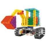 Fernsteuerungs-RC Blöcke des Block-1488717-Excavator des Installationssatz-stellten Ausbildungs-kreatives Spielzeug 123PCS - die gelegentliche Farbe ein