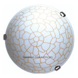 Потолок потолочной лампы E27 алюминиевого дешевого цены стеклянный для спальни