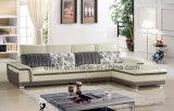 Sofà moderno del cuoio genuino del salone di svago di vendita calda (HX-F625)