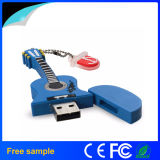 Movimentação 2016 musical do flash do USB da forma da guitarra do presente da forma de Hotsaling (JV1250)