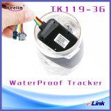 3G o tipo Hardwired rede CRNA do perseguidor do GPS que verific o múltiplo alerta o petróleo de corte pela porta de Repetição Impermeável Gpio (TK119-3G)