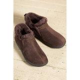 Los hombres de piel de oveja de piel de oveja Zapatilla zapato zapatos caliente