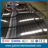 Feuille épaisse 201 d'acier inoxydable de polonais de miroir du fournisseur 2mm de la Chine
