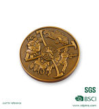 Kundenspezifische Metallfreimaurerfirmenzeichen-Andenken-Münzen für Förderung-Geschenk