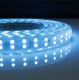 Tira do diodo emissor de luz da alta tensão 100-277V 22-24lm 5050 colorida para a decoração