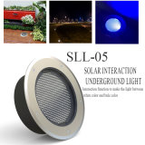 Mini luz subterráneo solar impermeable 6W IP68 Ce&RoHS del LED