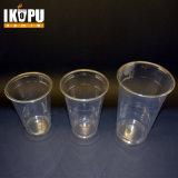 Чашка напечатанная таможней устранимая пластичная с крышкой