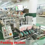 Pliage de cartons de bas de blocage et machine automatiques de collage (CA-650PC)