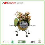 Flowerpot do metal com o gancho para a decoração da HOME e do jardim