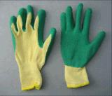 10g het koord breit Ruwe Voering beëindigt Latex handschoen-5232