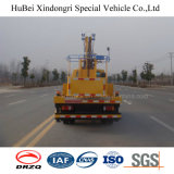 14m Isuzu 접히는 팔 공중 작동되는 트럭 Euro5