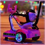 Carro de brinquedo de plástico interior para crianças com roda de iluminação