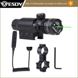 조정가능한 소총 범위를 사냥하는 Esdy는 녹색 Laser 점 범위를 거치한다