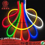 Lumière au néon polychrome de corde de câble de l'orange 12V/24V/110V/220V de DEL avec du ce et le RoHS