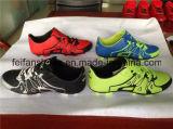 Hotsellの女性のサッカーは蹄鉄を打つスポーツのフットボールの靴(FFSC1111-01)に