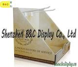 Étalage de palette de carton, crémaillère d'étalage promotionnelle de supermarché, boîte de présentation de PDQ (B&C-D008)