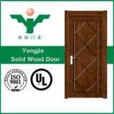 中国のガラスが付いているカスタム厚さのオフィスの木製のドアの最もよい品質