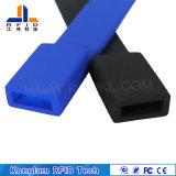 Wristband elegante del USB del silicón de alta frecuencia RFID del interfaz para el aeropuerto