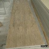 Feuilles extérieures solides de résine de panneau de texture en pierre artificielle de Corian à vendre (V161216)