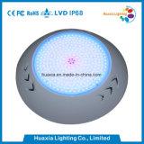 18Wプールライトは、LEDのプールライト、プールランプのあたりに取付けられて浮上する