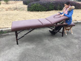 Table de massage portable en bois Mt-009-2h Passed Ce, RoHS.