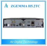 Più nuova ricevente combinata Zgemma H5.2tc con DVB-S2 + 2 * decodificatore triplice del satellite dei sintonizzatori H. 265 Hevc di DVB-T2/C