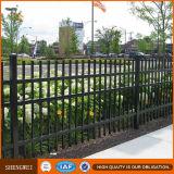Гальванизированная стальная загородка обшивает панелями покрынную порошком загородку сада