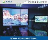 狭い斜面46inch 55inchは接続LEDのビデオ壁スクリーンを細くする