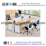 나무로 되는 가구 현대 사무실 워크 스테이션 테이블 (WS-012#)