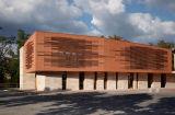 Constructeurs d'auvent de mur de revêtement de terre cuite pour le matériau de construction