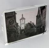 Pas het AcrylFrame van de Foto van de Vorm van L van het Beeld Duidelijke Acryl aan