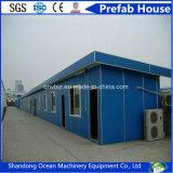 강철 건축재료와 샌드위치 벽면의 주문을 받아서 만들어진 가벼운 강철 Prefabricated 집 모듈 집 콘테이너 집