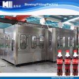 3 em 1 linha Carbonated da máquina de enchimento da bebida de Monoblock