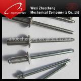Rivets en aluminium d'abat-jour de tête de cuvette d'acier inoxydable