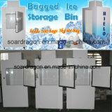 氷の収納用の箱はカスタマイズされたロゴを貼った