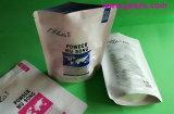 平底のアルミホイルのジッパーの粉のミルク食糧袋