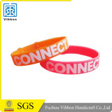Customized Debossed or Printed Your Logo Silicone Wristband