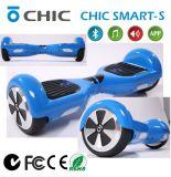 Scooter de équilibrage d'individu de 2 roues avec le véhicule électrique de Lumière-Mains de DEL librement et portatif à piles