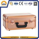LEDライトおよびミラー(HB-6403)が付いている金構成の箱