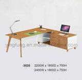 현대 행정상 나무로 되는 사무실 책상 (YF-T3020)