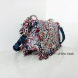 Form-Art-Minidame PU gesponnene lederne Kettenhandtaschen (NMDK-032904)